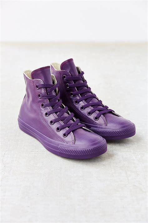 Lyst - Converse Chuck Taylor All Star Berry Rubber High