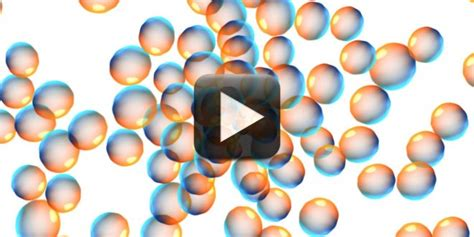Seamless Moving Bubbles Animated White Background   All