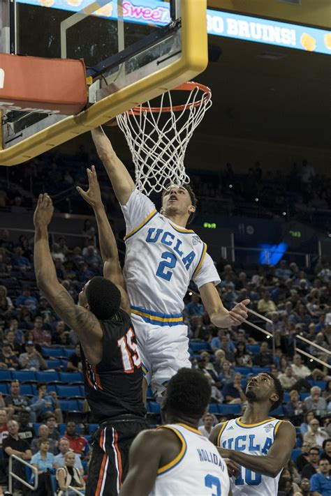 Lonzo Ball steals the show as UCLA defeats Pacific 119-80