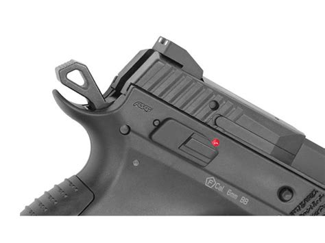 CZ P09 airsoft pisztoly fekete - Green Gas