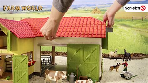 Schleich 2016 Large Farm Product Video SC42333 - YouTube