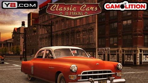Classic Cars 3D Parking - Y8 GAME TO PLAY 2015 - YouTube