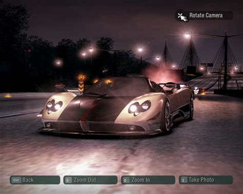 Need For Speed Carbon Pagani Zonda Cinque Roadster (NFS