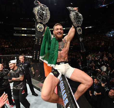 What happened to Conor Mcgregor acting out in that