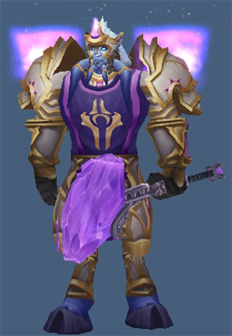 Share WoD themed transmogs in anticipation of the expac