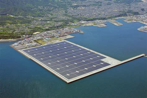 Gallery of Floating Solar Array Makes Statement in Japan - 2