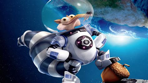 Wallpaper Ice Age 5: Collision Course, squirrel, best