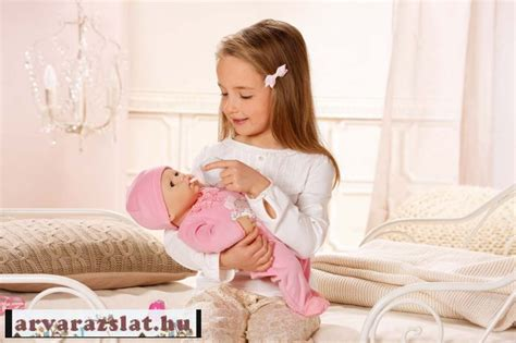 Baby Annabell Baba first 46 cm interactive új