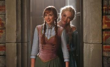 Anna and Elsa Once Upon a Time Images and a Spoiler