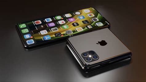 Foldable iPhone 12 Flip concept makes iOS handsets