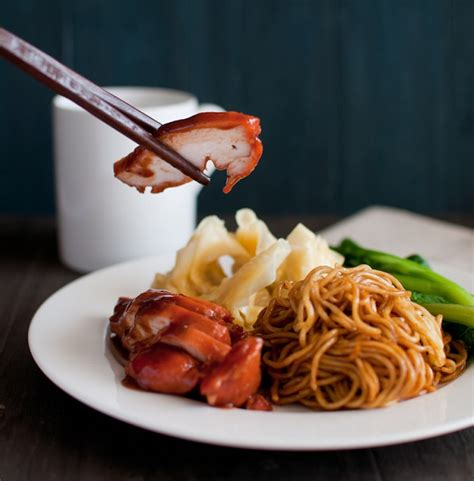 How to Cook Wantan Mee with Chicken Char Siew and Sui Gow